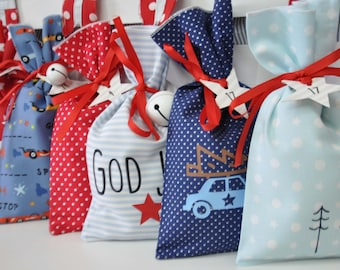 ADVENT CALENDAR Car to fill God Jul