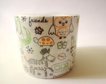 Masking tape wide animals - children - Scrapbook - embellishment designs