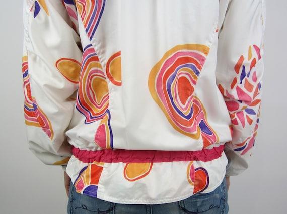 vintage 90s Reebok Jacket windbreaker sports jack… - image 8