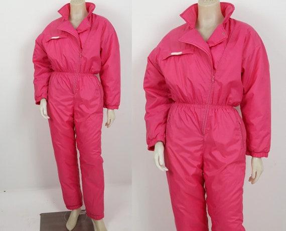 vintage 80s 90s Windbreaker Activewear  Pink snows