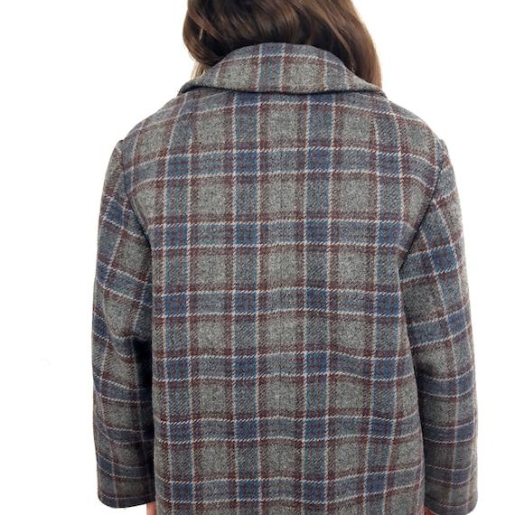 vintage Tweed Tartan check plaid print pattern - image 5