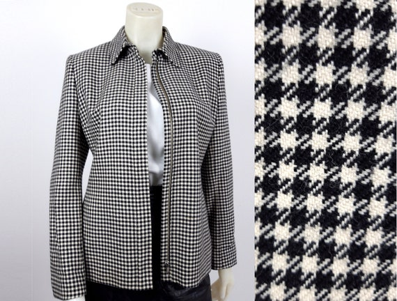 vintage Ralph Lauren 100% wool dogtooth hounds too