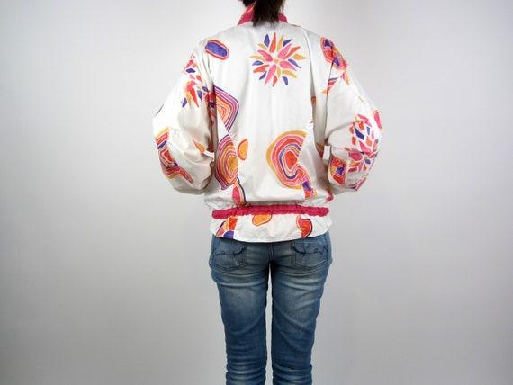 vintage 90s Reebok Jacket windbreaker sports jack… - image 6