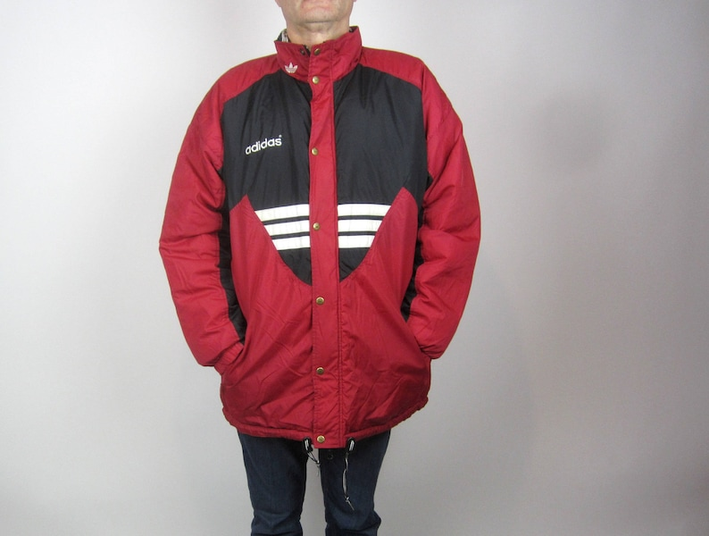 Adidas Vintage Colorful Windbreaker Size Large | eBay