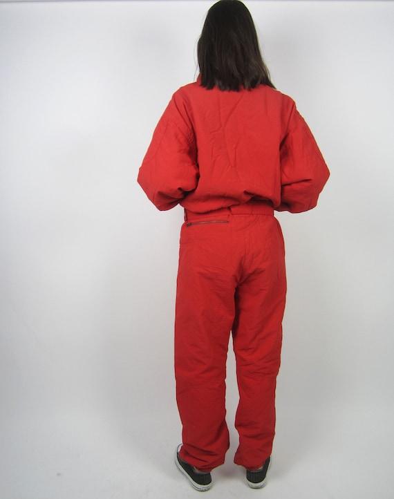 skisuit Activewear Red snowsuit vintage Colmar 90s 80s ZSgwqqXv