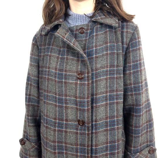 vintage Tweed Tartan check plaid print pattern - image 6