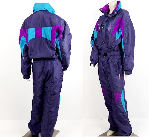 vintage 80s 90s ETIREL  Activewear skisuit snowsui