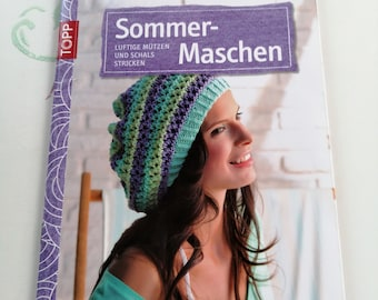Summer Mesh Airy Hats and Scarves- Knitting- Creative Instructions