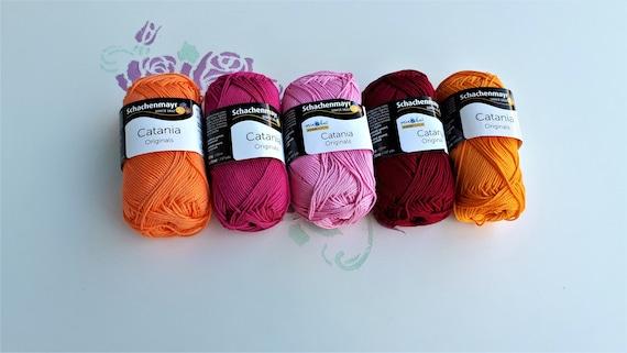 Catania de Schachenmayr-Pink 125 M de lana 00225 - 50 G//aprox