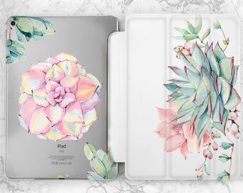 iPad stand Flowers case iPad 2017 Succulent case iPad air floral case iPad flowers case Case ipad iPad case 12 9 ipad floral case Succulents