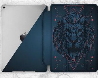 iPad case lion iPad  blue case iPad Pro 9 7 case iPad geometric iPad case 9 7 iPad case animal iPad cover iPad case 12 9 Case iPad mini 4