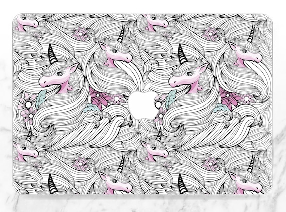 Macbook case unicorn Etsy