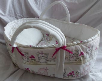 Adorable baby bassinet