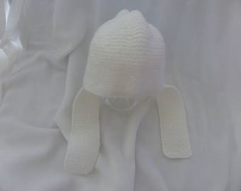 Hand knitted newborn Hat