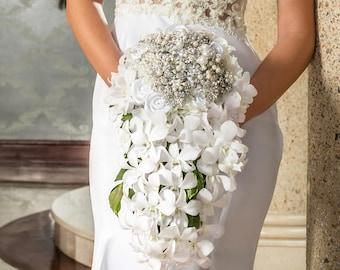 Garofano- Esmeralda Jewelry Bouquet- Brooch Bouquet