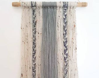 Boho Yarn Wall Hanging-Decor-Wall Decor-Dorm Decor-Tapestry-Housewarming