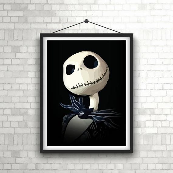 The Nightmare Before Christmas Giant Poster A0 A1 A2 A3 A4 Sizes Available