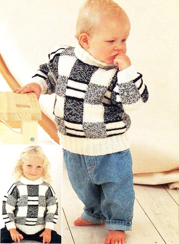 Instant Pdf Digital Download Vintage Knitting Pattern To Make Etsy