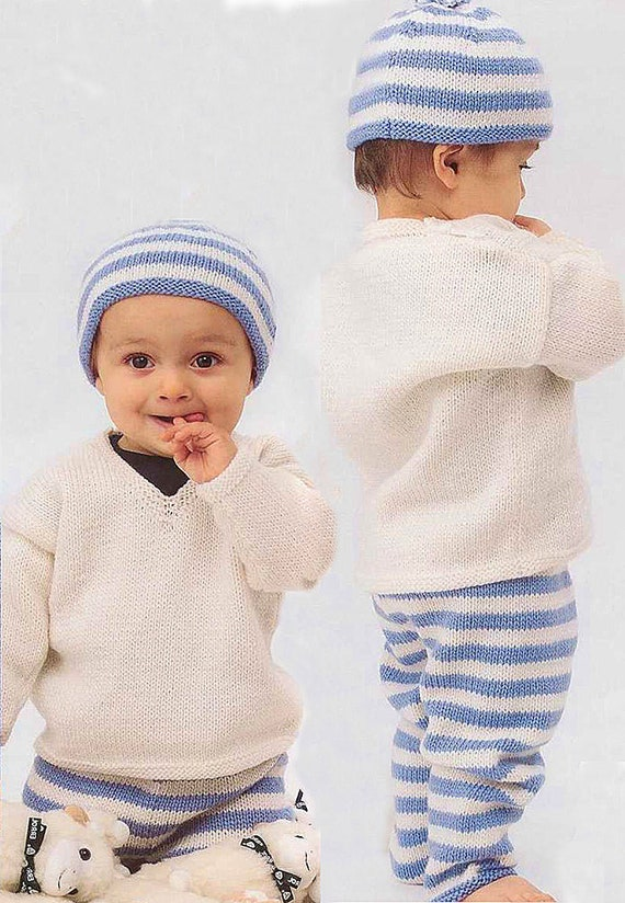 SALE Vintage Baby knitted pants
