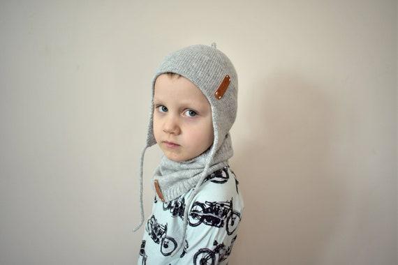 a6736339a5d5 Loreille tricot laine alpaga Rabat chapeau chaud pour casque   Etsy