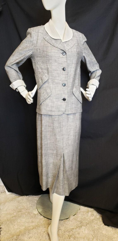 Irish Linen Ladies Suit - Mid-Century  1950's - image 2