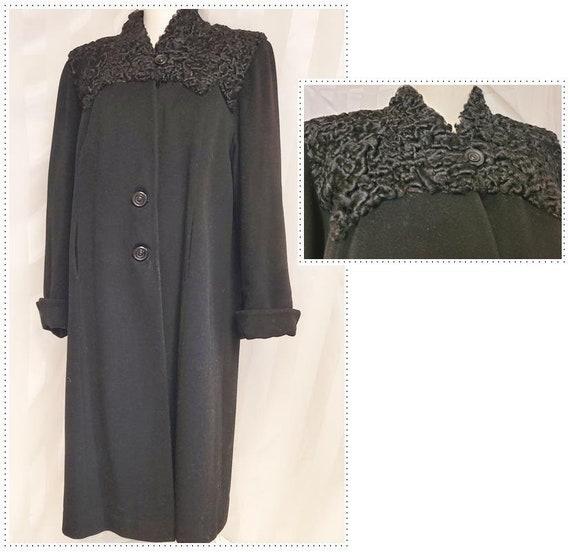 1930's Long Wool Coat