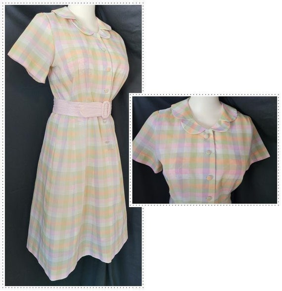 Adorable DAY DRESS - Mid-Century Delight!
