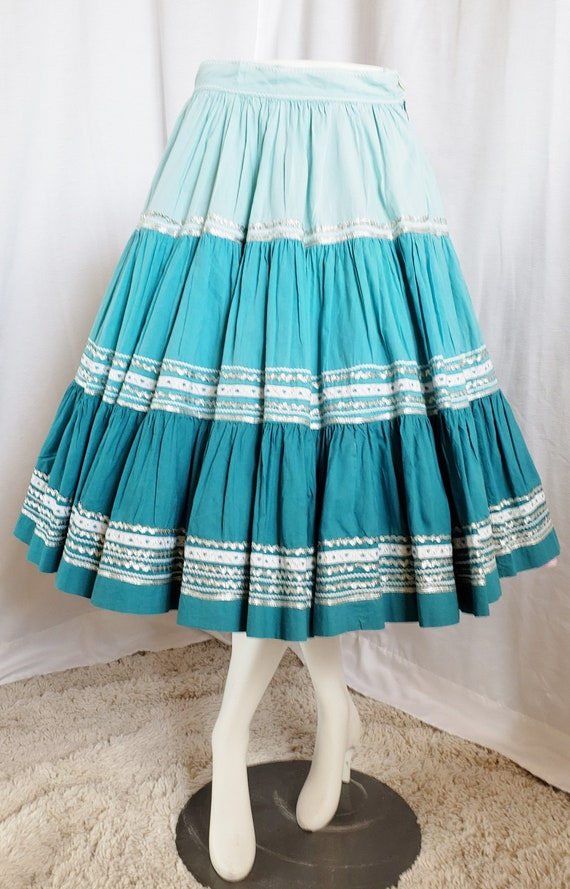 ROCK-A-BILLY Do-Si-Do Vintage Circle Skirt