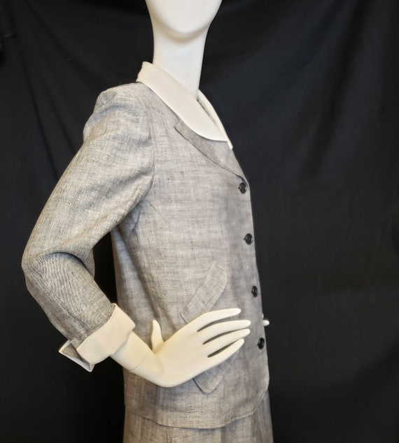 Irish Linen Ladies Suit - Mid-Century  1950's - image 9