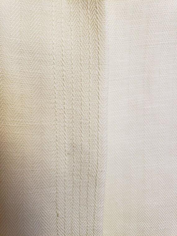 Linen Lime-Light Emma James Pant Suit - Mid-Centu… - image 10