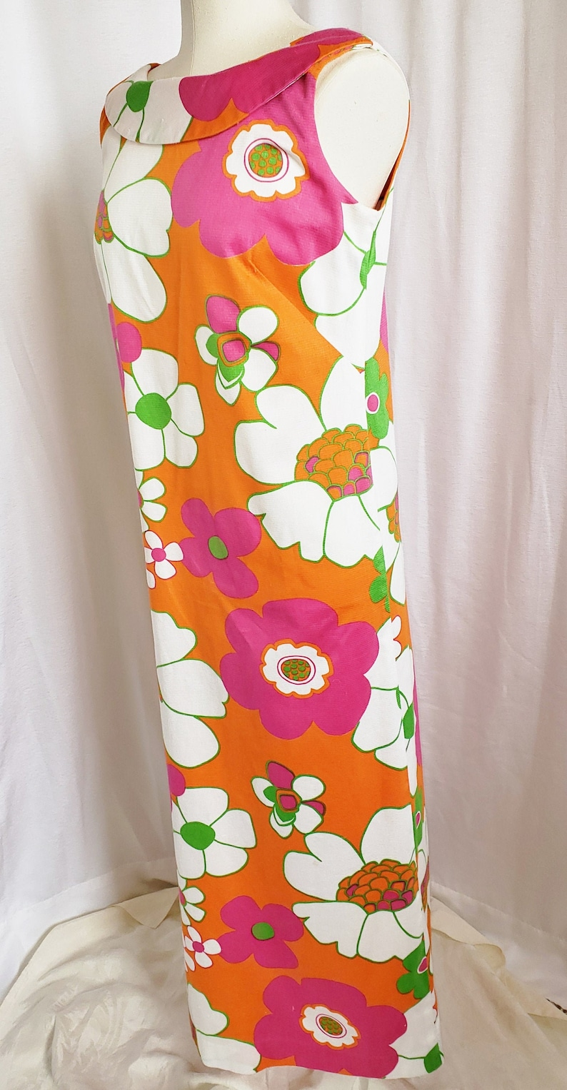 500 Vintage Style Dresses for Sale | Vintage Inspired Dresses 60s ALOHA Meaaloha Long Island Dress 1960s SophisticatedLaRue $72.00 AT vintagedancer.com