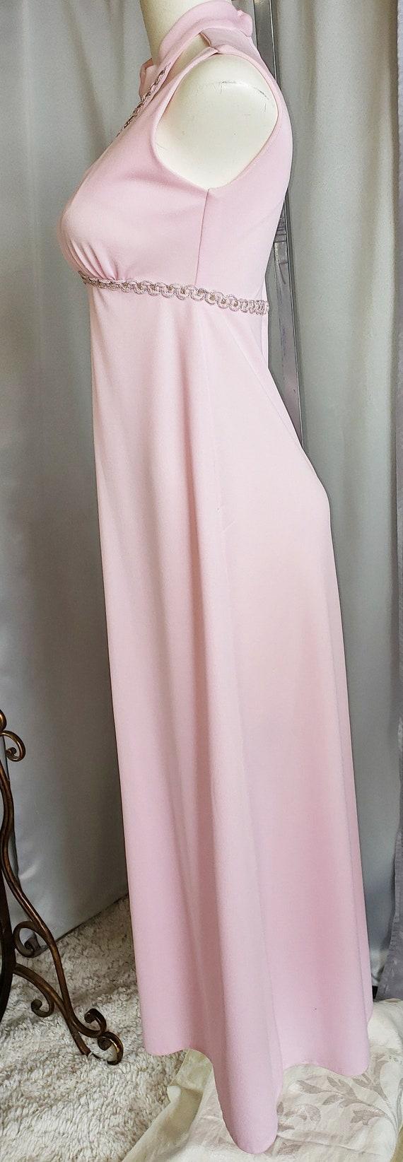 1960's Pink Princess Dress - image 5