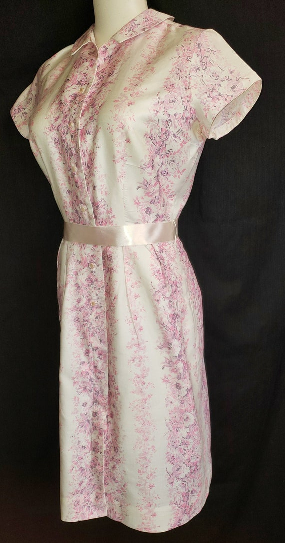 1960's Peter Pan Shirtwaist Dress