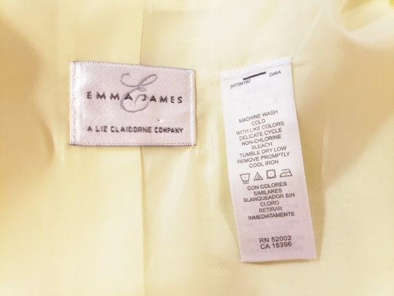 Linen Lime-Light Emma James Pant Suit - Mid-Centu… - image 6