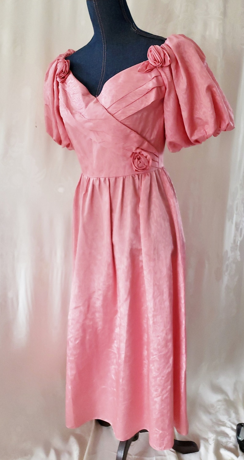 80s Dresses | Casual to Party Dresses Prom Formal 1970s  SophisticatedLaRue $74.00 AT vintagedancer.com