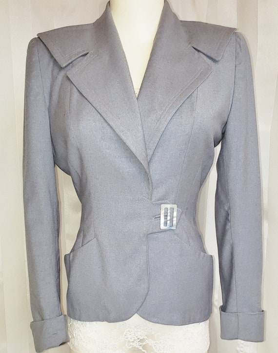 1930's - 40's Beautifully Tailored Wool Jacket