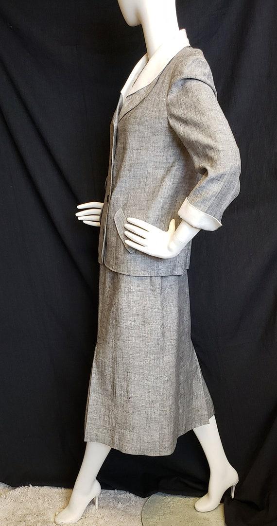 Irish Linen Ladies Suit - Mid-Century  1950's - image 6