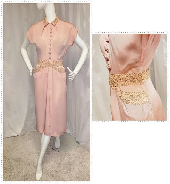 Minx Modes 1940's All-Around-Town Dress