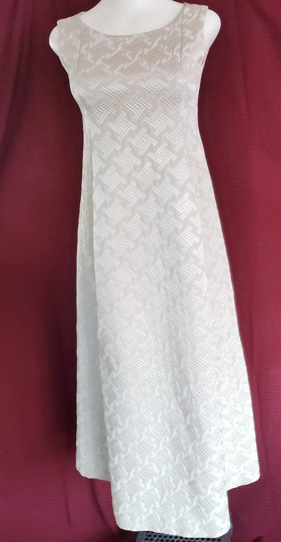 ROMANTIC RENAISSANCE Brocade Beauty Dress - 1960's