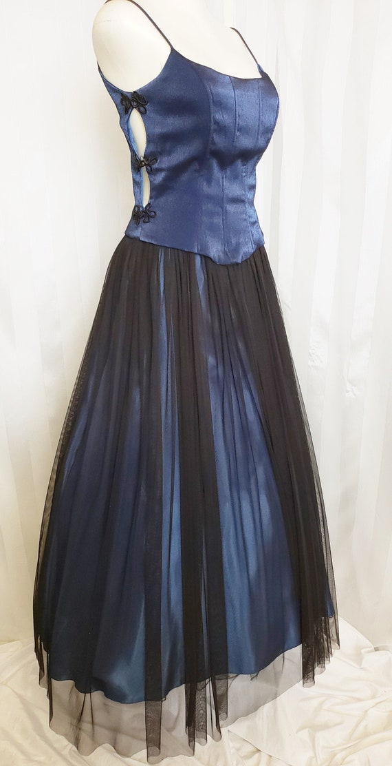 Peek-a-Boo Roberta Prom Party Gown