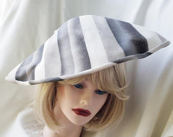 Avant Garde 1950's - 60's Sophisticated Hat