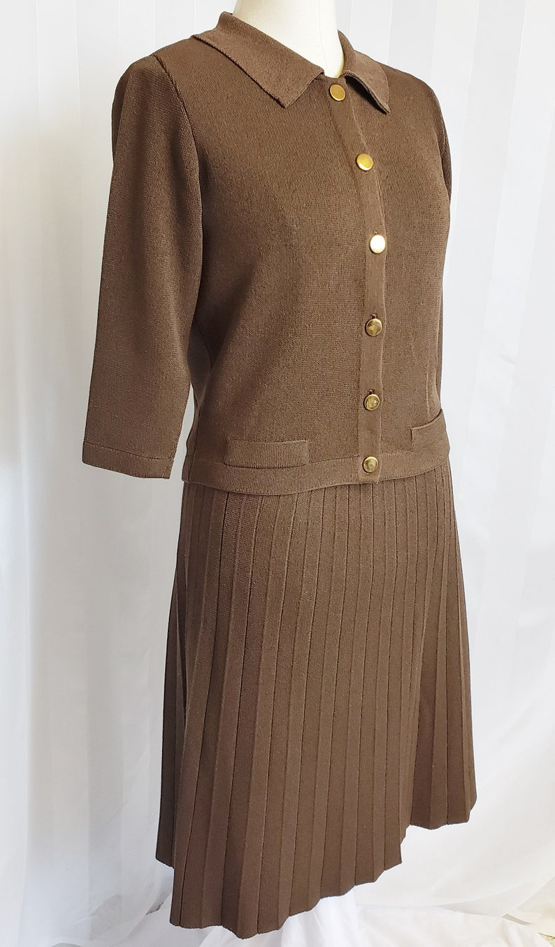 Vintage KIMBERLY Knit Suit 1950/'s-60/'s