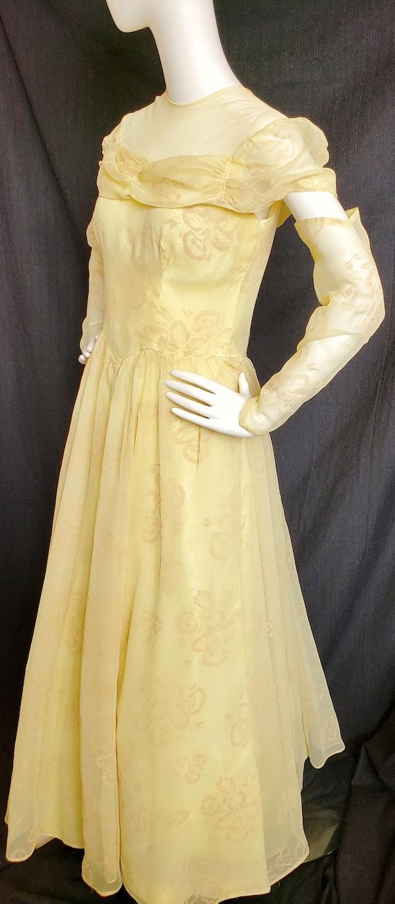 1930's Golden Irresistible IRIS Formal and Gauntl… - image 2