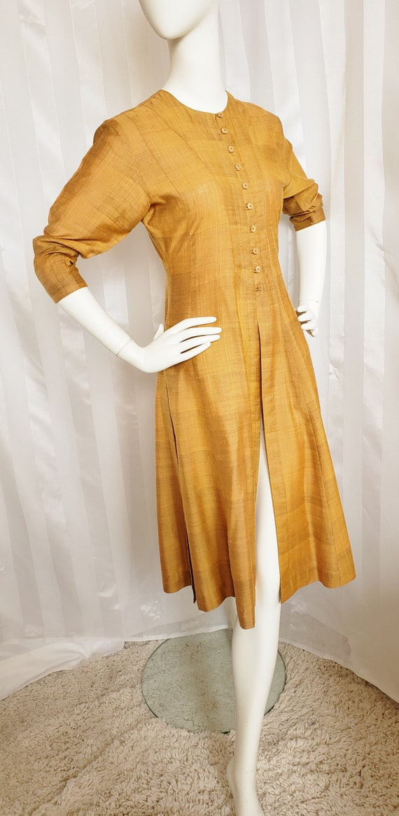 Fashionable Silk  KURTI Tunic   1960's