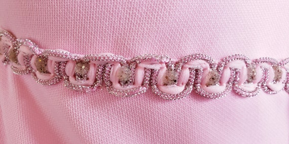 1960's Pink Princess Dress - image 4