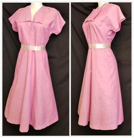 Luscious Raspberry Pink DAY DRESS