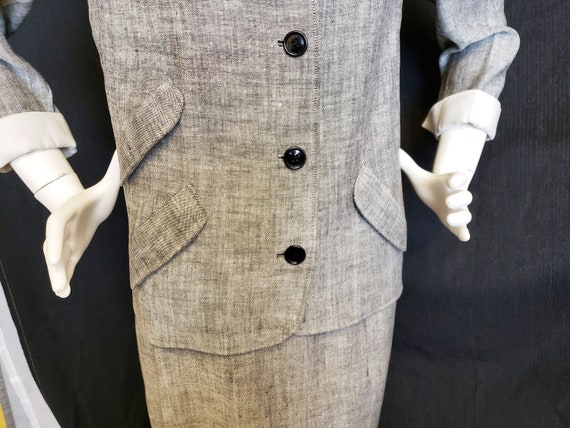 Irish Linen Ladies Suit - Mid-Century  1950's - image 4