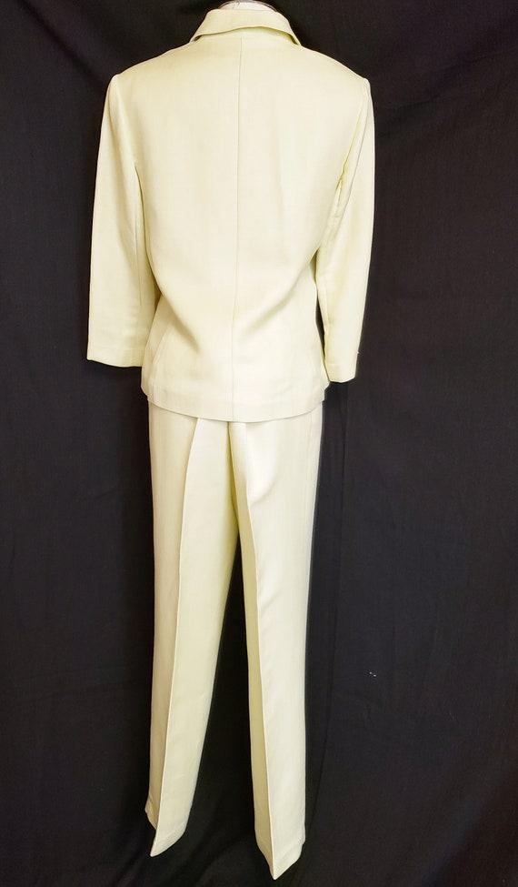 Linen Lime-Light Emma James Pant Suit - Mid-Centu… - image 8