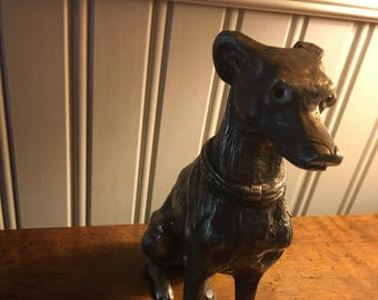 Large Dog Figurine / Italian Greyhound / Greyhound