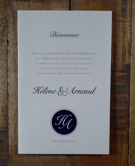 information booklet information wedding program wedding etsy